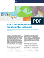 How Turkish Companies Can Become Global Successes