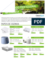 Cleanspot Prof COZINHA Papeis