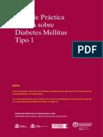 guia tratamiento diabetes tipo 1