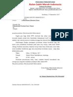 Surat Pengajuan Dana (Pemprov)