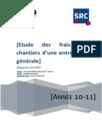 PFE Régnier - Mémoire de PFE