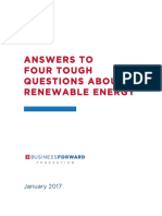 Answers to 4 Tough Questions About Clean Energy