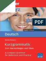 Kurzgrammatik Deutsch English Edition