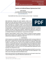 Artificial Human Optimization - A New Paradigm