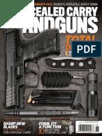 Concealed Carry Handguns December 2017
