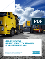Atlas Copco Brand Identity Manual for Distributors - 2014