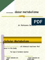 Dasar Dasar Metabolisme
