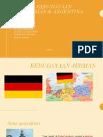 Kebudayaan Jerman Dan Argentina