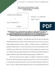 USA v Manafort Leak Allegations