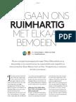 Interview Geert ten Dam & Karen Maex (mei 2016)