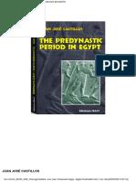 The Predynastic Period in Egypt
