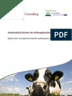 2010 085HD Eindrapport Veehouderij Milieugebruiksruimte