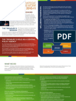 Treasury Strategic Framework 2010-11