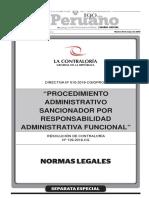 Directiva n 010 2016 Cggprod Procedimiento Administrativo Resolucion No 129 2016 Cg 1377884 1