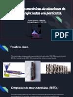 Propiedades Mecánicas de Aleaciones de Aluminio Reforzadas Con particulas