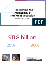 probability of regional secession