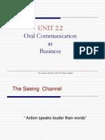 BUs Com E Unit 2.2 Seeing Channel