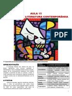 241889024 Aula 15 SEMI Literatura Contemporanea 1 PDF
