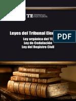 Leyes Del Tribunal Electoral