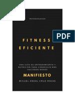 Fitness Eficiente Manifiesto Versión Gratuita