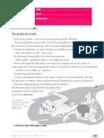 Ficha de Avaliação Trimestral - 3º Período - 3º Ano PORT I