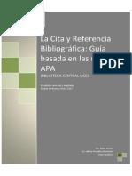 Norma de Referencia APA