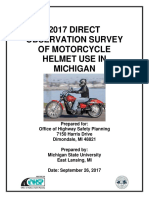 FINAL REPORT - Michigan Motorcycle Helmet Use