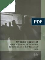 Informe Reclusion 2005