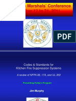 fm conflitch code Kitchen Fire Suppression System