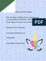PRACTICA 11 (Invitaciones)