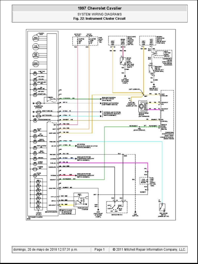 1997 Chevrolet Cavalier 1997 Chevrolet Cavalier: System ...