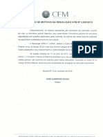 Formulario Conselho Federal de Medicina 2