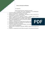 Temas a Tratar Para La Certificación de Recubrimiento.
