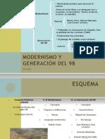 MODERNISMO+Y+GENERACIÓN+DEL+98+4ESO