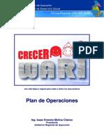 Plan de Operaciones CRECER Wari, Gobierno Regional de Ayacucho