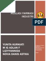 Regulasi Farmasi Industri