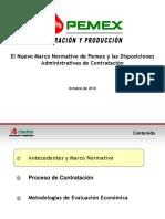 Presentación Ley Pemex Octubre 2010