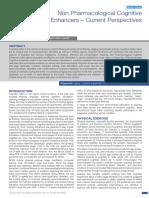 Non Pharmacological Cognitive Enhancers 2015