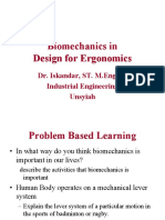Ergonomics Biomechanics