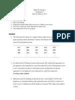Math 220-Assignment 2- FALL 2017