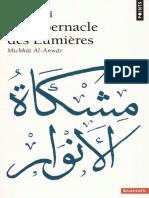 247131042 Ghazali Le Tabernacle Des Lumieres PDF