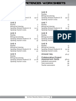 Key Competences Worksheets