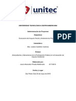 Ensayo Participacion Publica en EIA