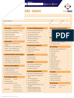 Sssp Site Inspection Checklist Generic Interactive