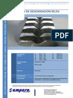 TDS - Aluminio de Desoxidacion 99.5%