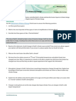 paleoclimate worksheet