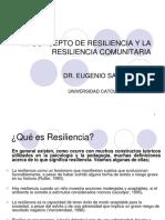 1.- El Concepto de Resiliencia y La Resiliencia Comunitaria
