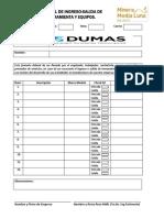 Mml -Formato Control de Ingreso-salida de Herramienta y Equipos
