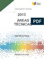 Instructivo_AreasTecnicas_2013
