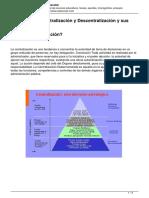 Conceptos de Centralizacion y Descentralizacion y Sus Diferencias